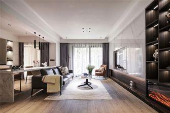 110平米三室一厅现代简约风格客厅图片