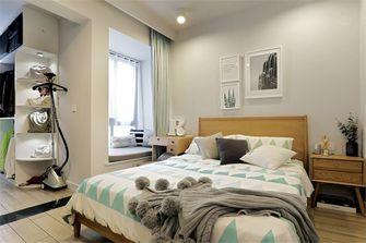 50平米现代简约风格卧室设计图