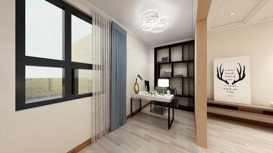 140平米公寓中式风格书房设计图