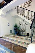 豪华型140平米别墅田园风格楼梯装修效果图