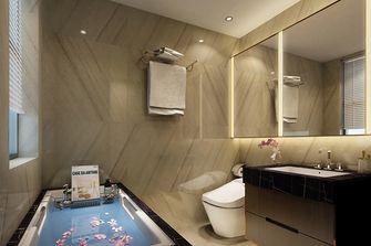 100平米一居室中式风格卫生间设计图