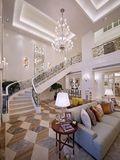 豪华型140平米别墅欧式风格楼梯装修效果图