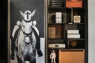 80平米公寓现代简约风格书房欣赏图