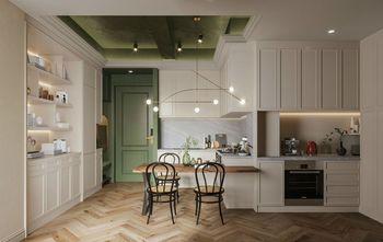 50平米一室一厅法式风格餐厅图