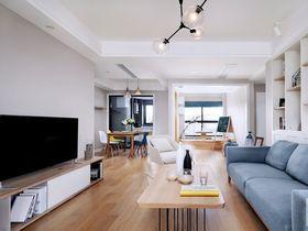 100平米三室兩廳北歐風格客廳欣賞圖