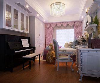 140平米三室两厅欧式风格儿童房欣赏图