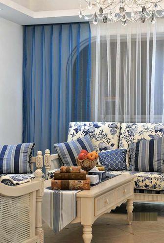 90平米一室一厅田园风格卧室设计图