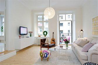 80平米公寓宜家风格客厅设计图