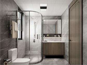 90平米三室两厅美式风格卫生间图片大全
