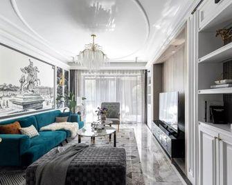 130平米三室三厅美式风格客厅图