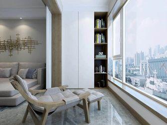 130平米三室一厅现代简约风格阳台设计图