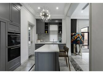 140平米别墅美式风格厨房装修图片大全