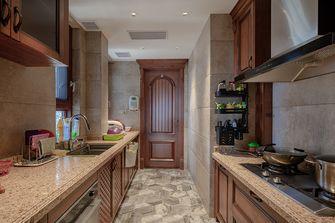 140平米四美式风格厨房欣赏图