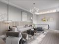 140平米复式其他风格客厅设计图