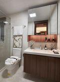 140平米四室一厅中式风格卫生间装修案例
