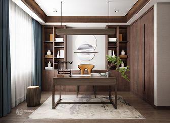 140平米别墅中式风格书房设计图