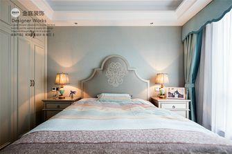 130平米三室两厅地中海风格卧室装修图片大全