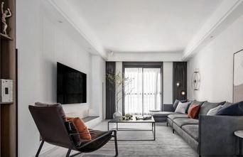 130平米三现代简约风格客厅装修效果图