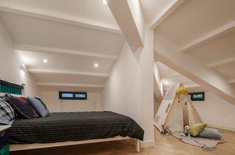 60平米三室两厅现代简约风格阁楼图片大全