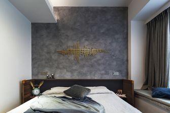 120平米三室两厅英伦风格卧室装修图片大全