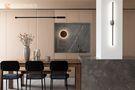 130平米三室两厅日式风格餐厅效果图