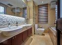 120平米三室两厅欧式风格卫生间家具装修效果图