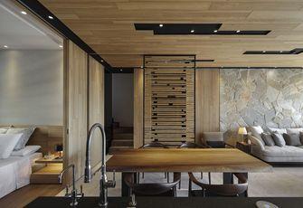 140平米四室两厅田园风格书房效果图