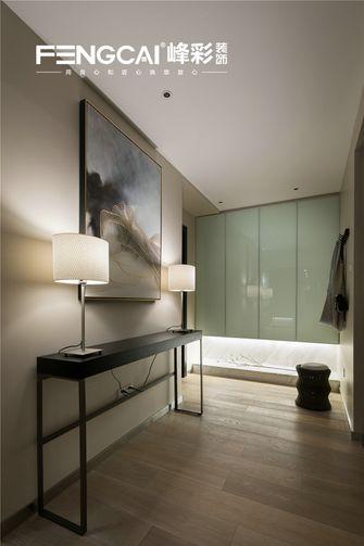 140平米四室三厅现代简约风格衣帽间图