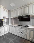 90平米现代简约风格厨房装修效果图