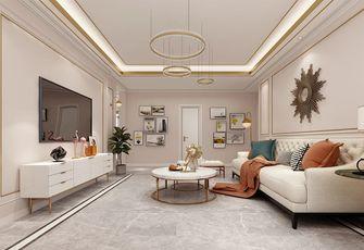 140平米三室一厅其他风格客厅设计图