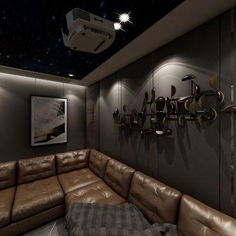 140平米复式混搭风格影音室装修效果图