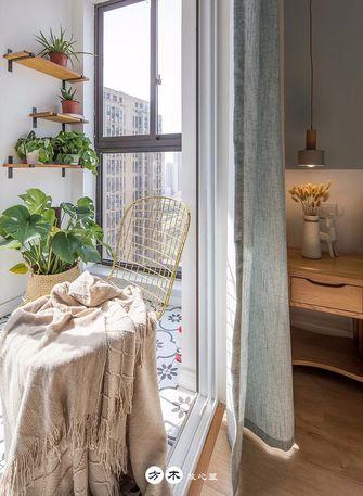 100平米三室两厅北欧风格阳台欣赏图