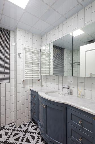 140平米三室一厅美式风格卫生间设计图