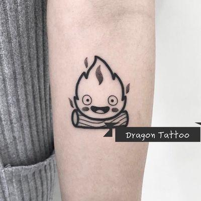 卡通小清新纹身款式图
