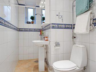 经济型70平米一室一厅田园风格卫生间装修图片大全