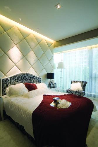 110平米三室两厅东南亚风格卧室图
