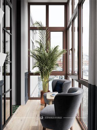 50平米一居室美式风格阳台图片