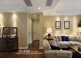 经济型110平米三室四厅美式风格客厅欣赏图