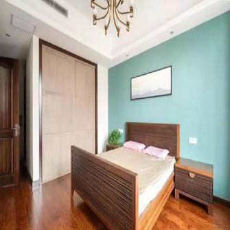 130平米三室三厅中式风格卧室图片大全