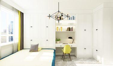 80平米北欧风格书房图片