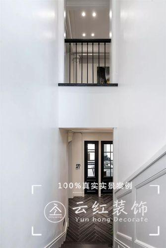 140平米复式现代简约风格阁楼效果图