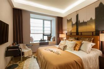 80平米日式风格卧室设计图