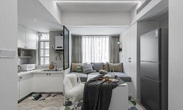 30平米小户型现代简约风格客厅装修图片大全
