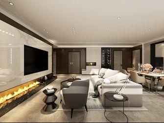 100平米三室两厅混搭风格客厅装修图片大全
