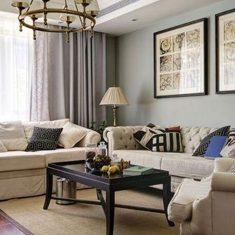 140平米四室一厅法式风格客厅设计图