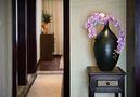 100平米三室一厅东南亚风格玄关设计图