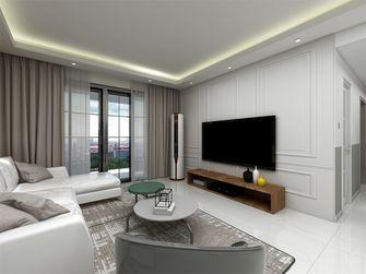 130平米四室一厅现代简约风格客厅图片