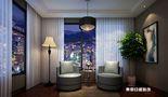 140平米三室两厅现代简约风格阁楼装修图片大全