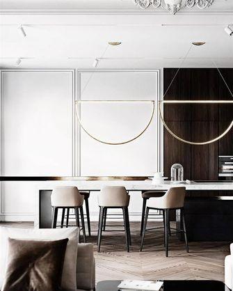 140平米四室两厅法式风格餐厅设计图