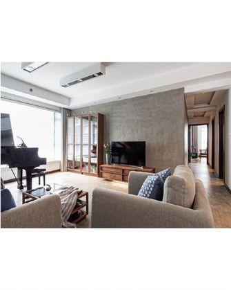 120平米混搭风格客厅装修图片大全